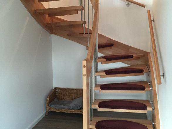 Die Haustreppe Im Ferienhaus Dahmeer In Dahme